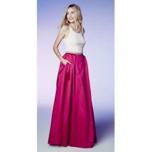 COPY - Aidan Mattox colorblock  dress